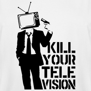 Kill Your Television VECTOR T-Shirts - Men's Tall T-Shirt