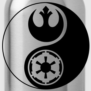 1 Logo - Star Wars - Yin Yang - Water Bottle