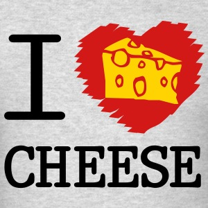 i love cheese Long Sleeve Shirts - Men's T-Shirt