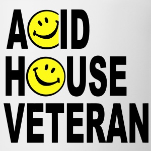 Acid House Veteran T-shirt - Coffee/Tea Mug