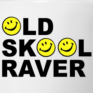 Old skool Raver 2 Colour design T-Shirts - Coffee/Tea Mug