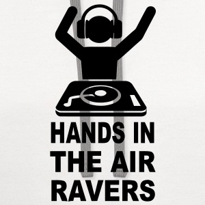 Hands In The Air Ravers T-Shirts - Contrast Hoodie