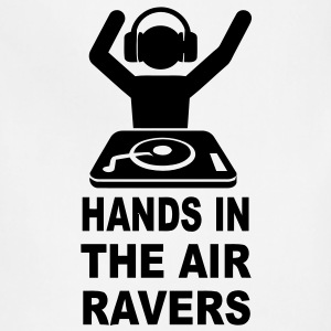 Hands In The Air Ravers T-Shirts - Adjustable Apron