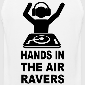 Hands In The Air Ravers T-Shirts - Men's Premium Tank
