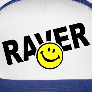 Smiley Face Raver T-Shirts - Trucker Cap