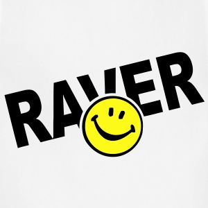 Smiley Face Raver T-Shirts - Adjustable Apron