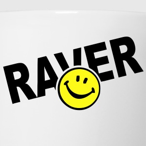 Smiley Face Raver T-Shirts - Coffee/Tea Mug