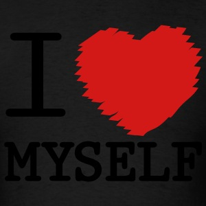 i love myself Long Sleeve Shirts - Men's T-Shirt