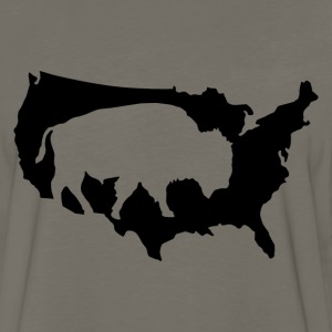 amerika_buffalo T-Shirts - Men's Premium Long Sleeve T-Shirt