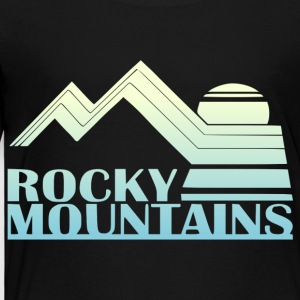 Rocky Mountains  - Toddler Premium T-Shirt
