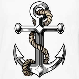 anchor, marine - Men's Premium Long Sleeve T-Shirt