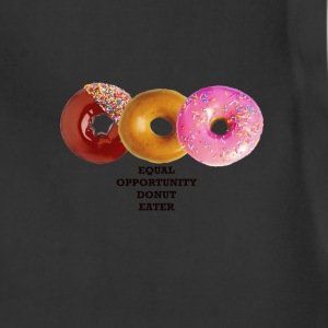 Equal Opportunity Donut Eater, or EODE Women's T-Shirts - Adjustable Apron