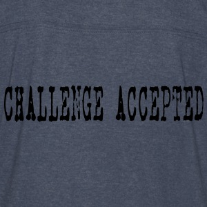 Challenge Accepted HD VECTOR Hoodies - Vintage Sport T-Shirt