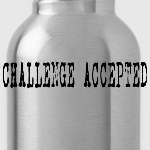 Challenge Accepted HD VECTOR Hoodies - Water Bottle