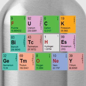 Pimptastic Periodic Table T-Shirts - Water Bottle