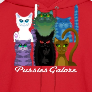 PUSSIES GALORE Women's T-Shirts - Men's Hoodie
