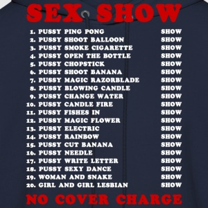 Bangkok Red Light Ping Pong Sex Show T-Shirts - Men's Hoodie