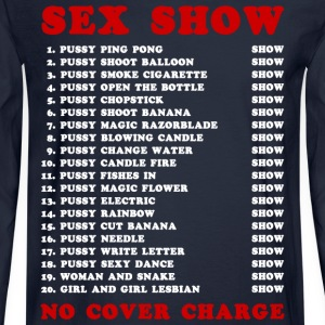 Bangkok Red Light Ping Pong Sex Show T-Shirts - Men's Long Sleeve T-Shirt
