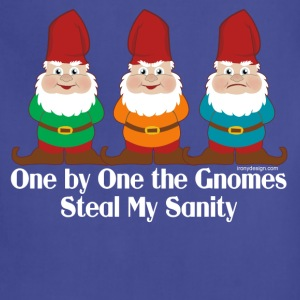 One By One The Gnomes - Adjustable Apron
