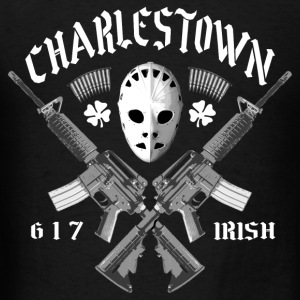 Charlestown 617 Irish - Men's T-Shirt