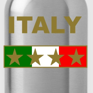 italy_gold_four_Stars Hoodies - Water Bottle