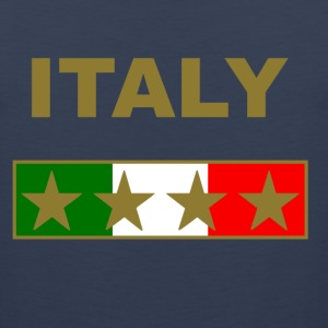 italy_gold_four_Stars Hoodies - Men's Premium Tank