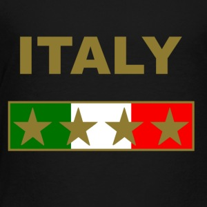 italy_gold_four_Stars Kids' Shirts - Toddler Premium T-Shirt