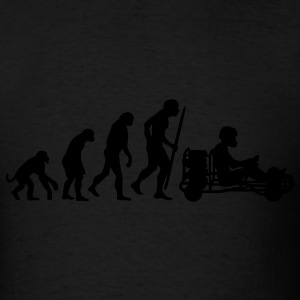 Evolution of karting  Hoodies - Men's T-Shirt