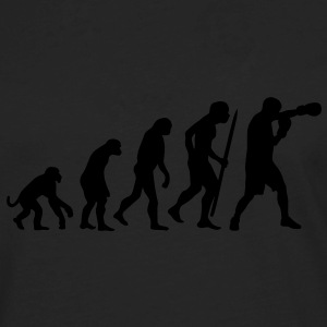 Evolution of boxing Hoodies - Men's Premium Long Sleeve T-Shirt