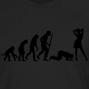 The end of Evolution Women's T-Shirts - Men's Premium Long Sleeve T-Shirt