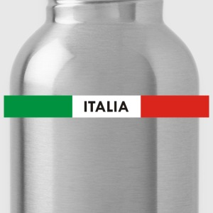Italia green white red Hoodies - Water Bottle