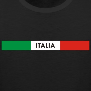 Italia green white red Hoodies - Men's Premium Tank