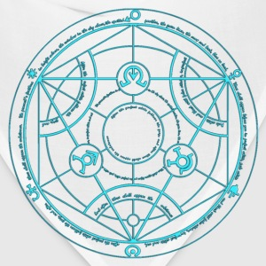 Full Metal Alchemist Circle Baby Blue Male - Bandana