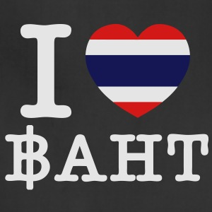 I Heart (Love) Baht - Adjustable Apron