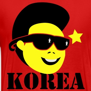 KOREA Kim Jong Il north korean dictator leader dead Hoodies - Men's Premium T-Shirt