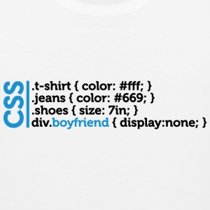 Css Clothes Boyfriend (dd)++ T-Shirts - Men's Premium Tank
