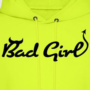 Bad Girl (1c)++ T-Shirts - Men's Hoodie