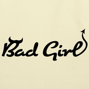 Bad Girl (1c)++ T-Shirts - Eco-Friendly Cotton Tote