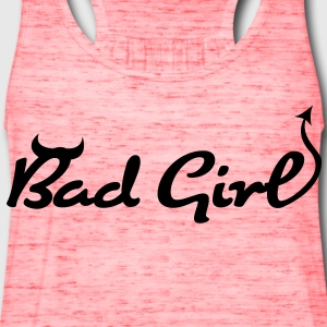 Bad Girl (1c)++ T-Shirts - Women's Flowy Tank Top by Bella