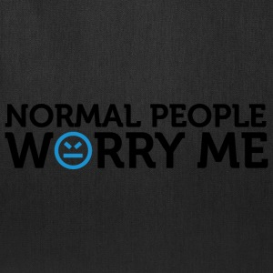 Normal People Worry Me 2 (dd)++ Kids' Shirts - Tote Bag