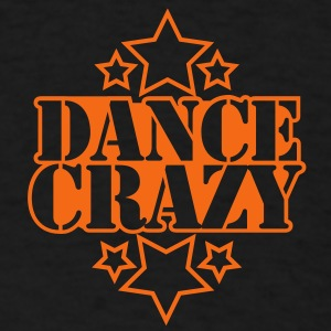 DANCE CRAZY with stars Dog T-Shirts - Men's T-Shirt