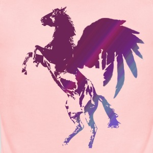 Aerial Appaloosa - Winged Horse - Short Sleeve Baby Bodysuit