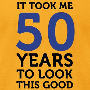 50 Years To Look Good 1 (2c)++ Bags  - Men's T-Shirt by American Apparel