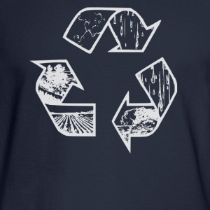 Recycle hoodie - Men's Long Sleeve T-Shirt