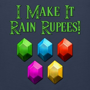 I Make It Rain Rupees! Zelda Hoodies - Men's Premium Tank