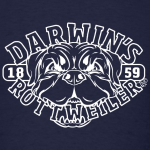 Darwin's Rottweiler Since 1859 - Men's T-Shirt