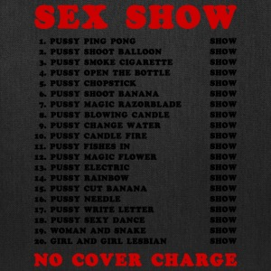 Bangkok Red Light Ping Pong Sex Show - Tote Bag