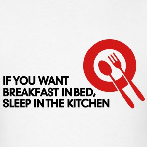 Breakfast In Bed 2 (2c)++ Polo Shirts - Men's T-Shirt