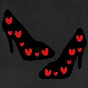 Red Hearts Sexy high heel shoes Eco-Friendly Cotton Tote - Leggings