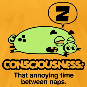 Consciousness 2 (2c)++ Bags  - Men's T-Shirt by American Apparel
